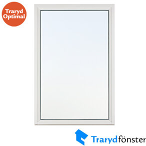 Trarydfönster Fast Karm Optimal 3-Glas Trä 14x21